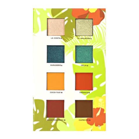 Alamar cosmetics reina del caribe palette